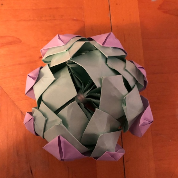 How to Simple Origami Lotus Flower Step by Step - Kids Can Make | 580x580